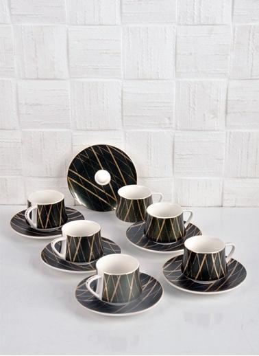Bayev Elegance 6 Lı Kahve Fincanı - 101172 Renkli